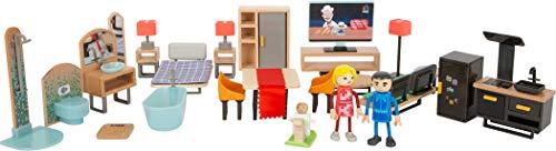 Small Foot Small foot-11742 Set Muebles Modernos,, Madera, plástico, Acc. Casas...