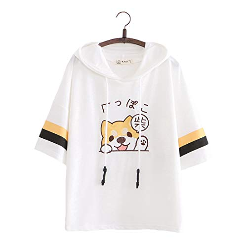 Kawaii - Camiseta de manga corta para mujer