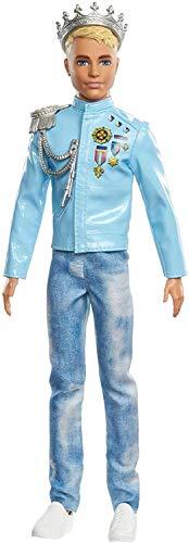 Barbie - Princess Adventure, Principe Ken, Muñeco para niñas y niños (Mattel...