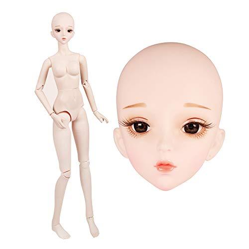 1/3 BJD Doll 18 muñecas articuladas 63cm 18.9'24.8n Para recoger muñecas de...