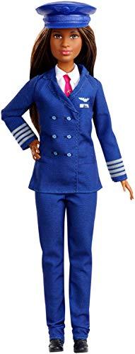 Barbie Quiero Ser Piloto - Muñeca 60 aniversario con accesorios (Mattel GFX25) ,...