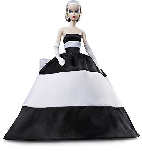 Barbie Collector Muñeca rubia Black and White Forever (Mattel FXF25)