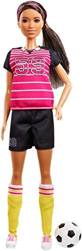 Barbie Quiero Ser Atleta - Muñeca 60 aniversario con accesorios (Mattel GFX26)
