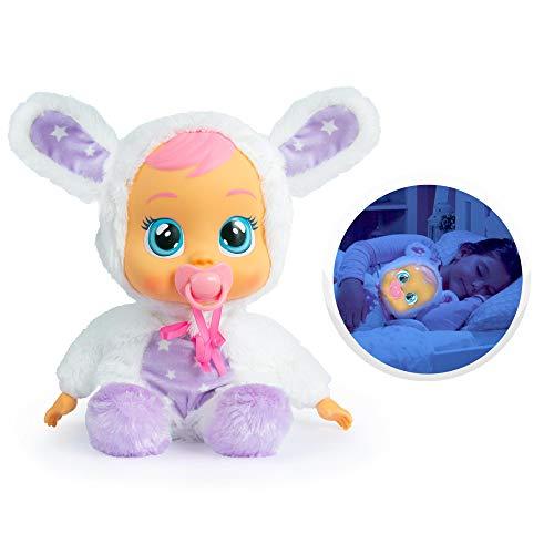 Bebés Llorones Buenas Noches Coney - Muñeca interactiva que llora de verdad con...