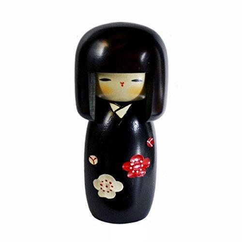 Usaburo Sosaku Kokeshi Doll SachinoHana Hecho en Japón