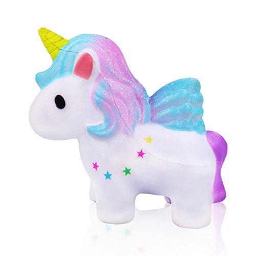 mi ji Squishy Kawaii,Squishy Unicornio,Squishy Doll de Diseño Animado Perfumada...