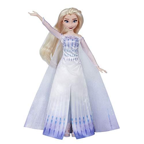 Disney Frozen 2 Muñeca Cantarina Elsa, Color a (Hasbro E8880TG0)