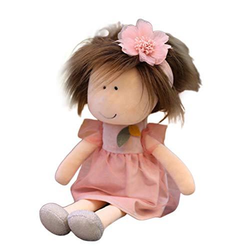 Muñeca de Peluche para niñas, muñeco de Trapo Suave, Bonito muñeco de Trapo...