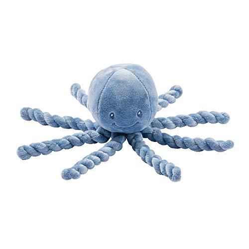 Nattou-NT-877565 Peluches, Color Azul Polvo (NATLAP877565)