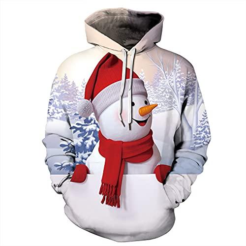 Unisex Pullover Hoodies Hombres Mujeres Sudadera Con Capucha Sudaderas Sweatshirt 3D...