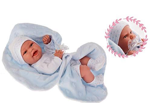 Antonio Juan Baby CLAR MANTITA Tacto Especial Y Cuerpo Goma 33 CMS (6025)