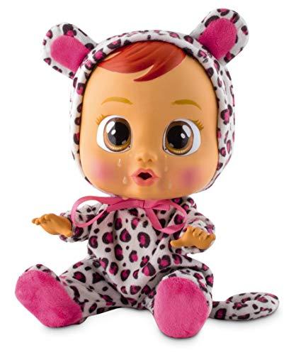 Bebés Llorones Lea - Muñeca interactiva que llora de verdad con chupete y pijama de...