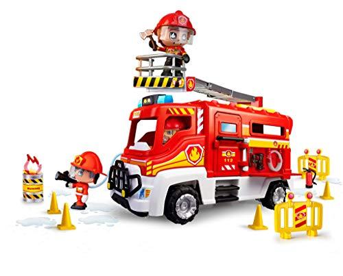 Pinypon Action- Camión de Bomberos para niños y niñas de 4 a 8 años (Famosa...