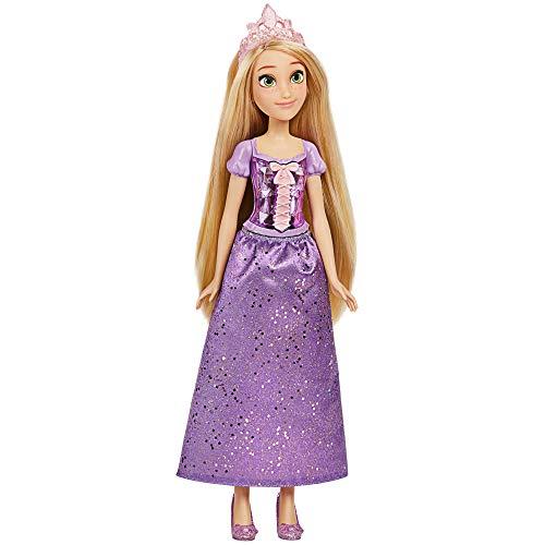 Disney Princess Muñeca de Rapunzel Royal Shimmer, muñeca con Falda y Accesorios,...
