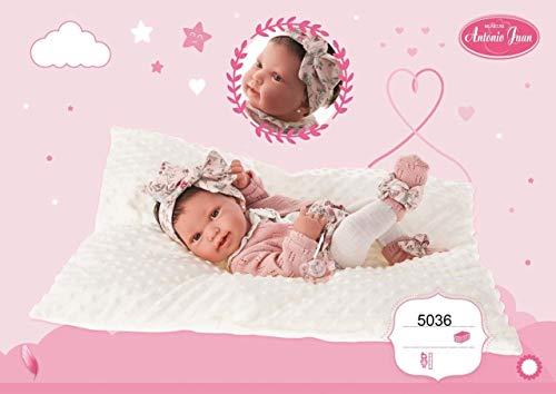 Antonio Juan- Muñeca Baby Born Pipa 42 cm, Multicolor (5036) , color/modelo surtido