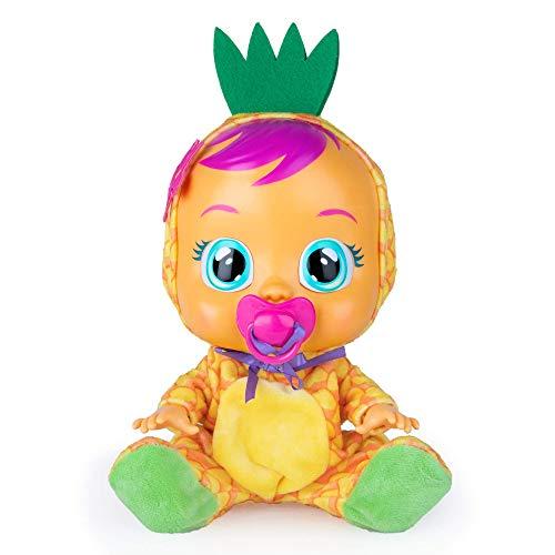 BEBÉS LLORONES Tutti Frutti Pia, la piña Muñeca interactiva que llora de verdad...