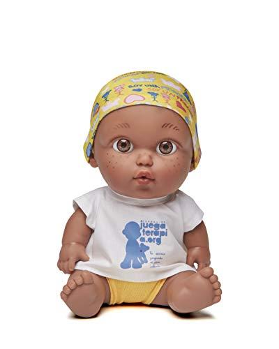 Juegaterapia Muñeco Baby Pelón, Diseñado por Leire, Juguete Solidario con Olor a...