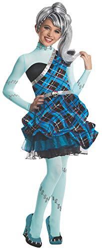 Rubie's - Disfraz de Sweet 1600 Frankie Stein de Monster High para niñas, 117 cm...