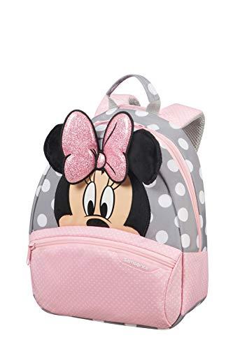 Samsonite Disney Ultimate 2.0 - Mochila Infantil, 7 l, Multicolor (Minnie Glitter), S...