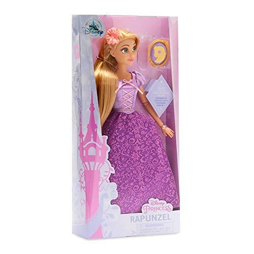 Muñeca oficial Disney Princess 30cm Rapunzel con anillo