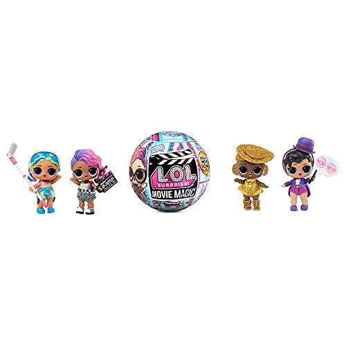L.O.L. Surprise!- LOL Surprise Movie Magic 10 sorpresas Que Incluyen 1 muñeca,...