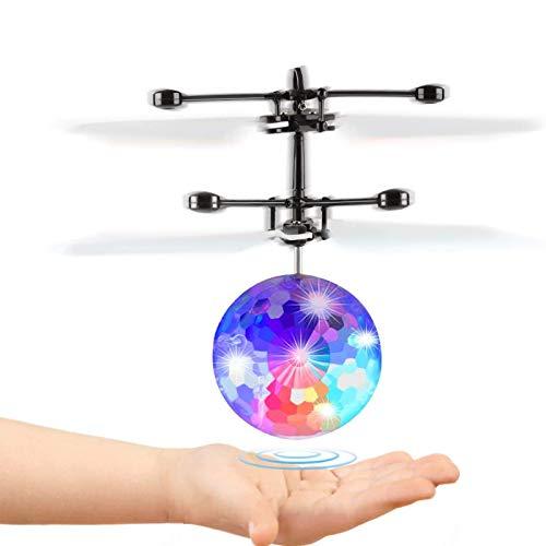 Fansteck Mini Drone, Dron Niños, Bolas Voladoras, Helicopteros Teledirigidos, Regalo...