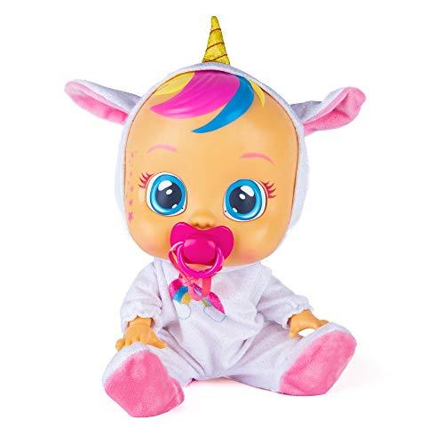 Bebés Llorones Fantasy Dreamy Unicornio - Muñeca interactiva que llora de verdad...