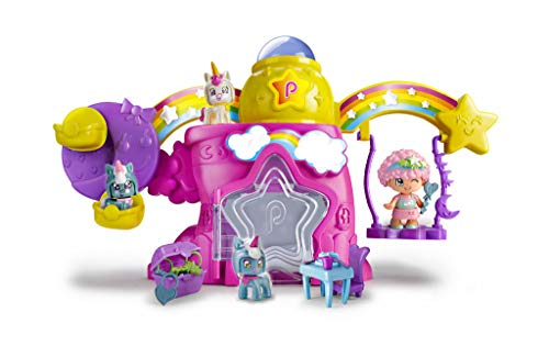 Pinypon - Casita De Las Estrellas-Incluye Figura y Mascota, para niños y niñas a...