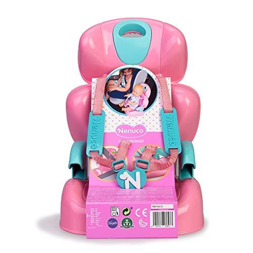 Nenuco-Sillita para Coche, Accesorio para Transportar a muñeco, Regalo Ideal para...