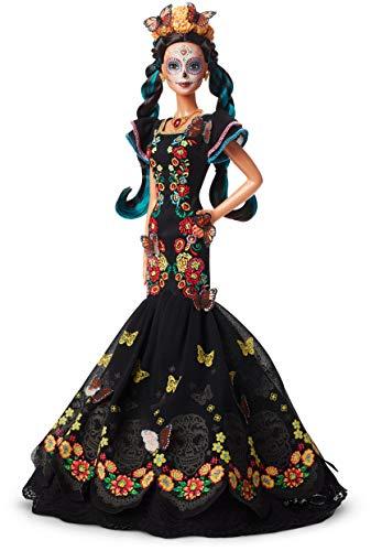 Mattel - FXD52 - Muñeca Barbie Signature Día de Muertos Original - Multicolor -...