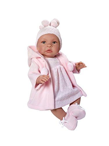 ASI - Muñeca Leo bebé Trenca Rosa