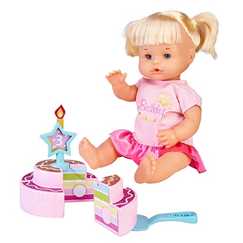 Nenuco -Feliz Cumpleaños, Muñeca bebé de cumple para regalar a los más pequeños...
