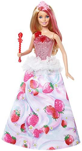 Barbie - Princesa Destellos Dulces (Mattel DYX28) , Modelos/colores Surtidos, 1...