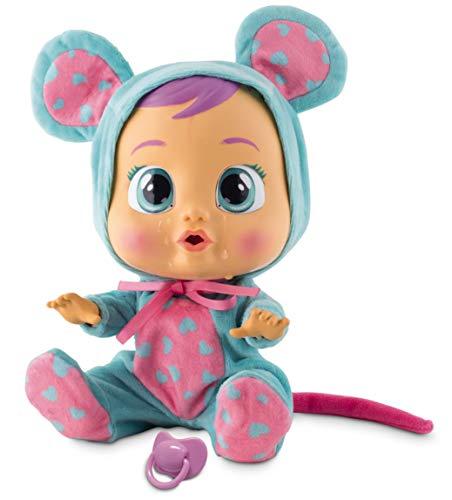 Bebés Llorones Lala - Muñeca interactiva que llora de verdad con chupete y pijama...