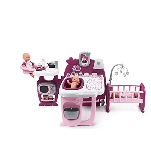 Smoby 220349 La Casa de Los Bebés Baby Nurse para Muñecos Bebé, multicolor, única...