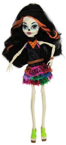 Monster High - Muñeca Scaris Deluxe, Skelita Calaveras (Mattel Y7644)