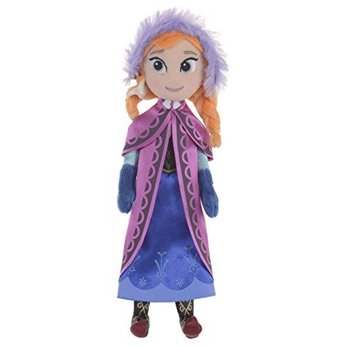 Peluche Oficial de Disney Frozen de 10 Pulgadas de 26 cm de Peluche de Peluche - Anna