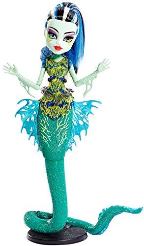 Monster High DHB55) Mattel - Muñeca, Monstruitas de profundidades, Frankie
