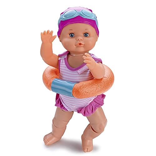 Nenuco - Nadador, este divertido juguete nada como un bebé de verdad, mueve sus...