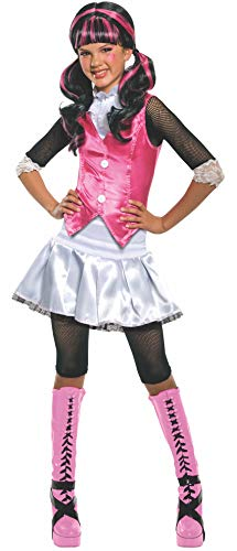 Monster High - Disfraz de Draculaura para niña, infantil 3-4 años (Rubie`s...