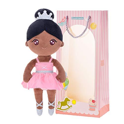 Gloveleya Muñeca de Peluche muñeca de Trapo Peluche Regalo de niña Suave y Seguro...