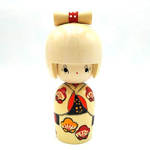 Usaburo Kokeshi Hanakumori, Muñeca Tradicional Japonesa