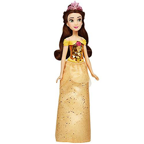 Disney Princess Muñeca de Bella Royal Shimmer, muñeca con Falda y Accesorios,...