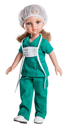 Paola Reina 04617 - Muñeca Carla enfermera, 32 cms