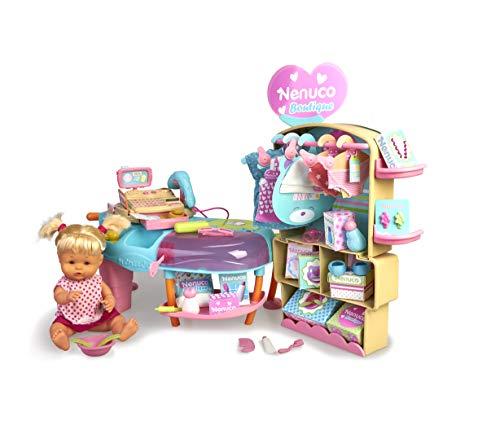 Nenuco - Boutique, Tienda de Moda para bebés con 30 Accesorios y Ropa para Cambiar...