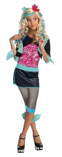Monster High - Disfraz de Lagoona Blue para niña, infantil 5-7 años (Rubie's...