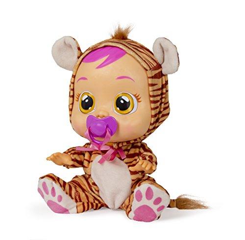 Bebés Llorones Nala - Muñeca interactiva que llora de verdad con chupete y pijama...