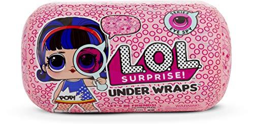 L.O.L. Surprise! - Under Wraps Serie Espia Muñeca con Disfraz, 15 Sorpresas,...
