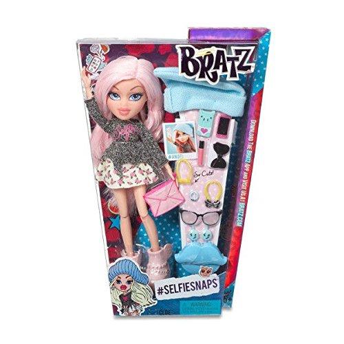 Bratz - SelfieSnaps Cloe, muñeca Fashion (Bandai 536901)
