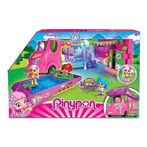 Pinypon Cool Caravan - Set de Juguete y Accesorios Divertidos con 1 Figura para...